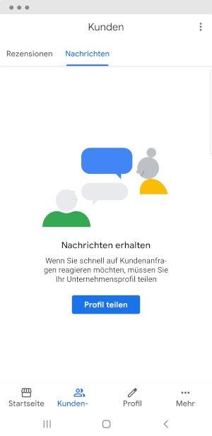 Google My Business Nachrichten Schritt 2